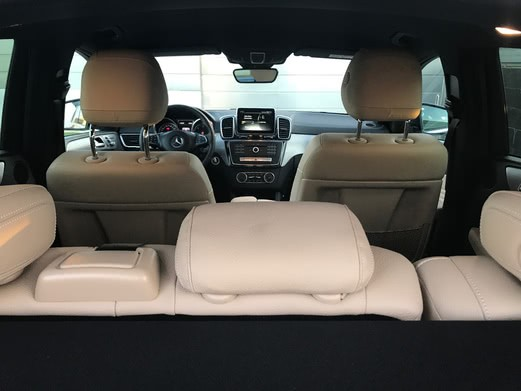 Interior Mercedes GLE 350d Coupé