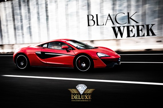 Black Week en Rent Car Deluxe