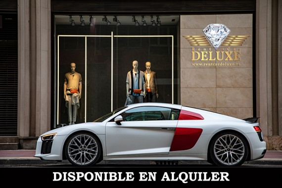 Audi R8 V10+ disponible en Madrid