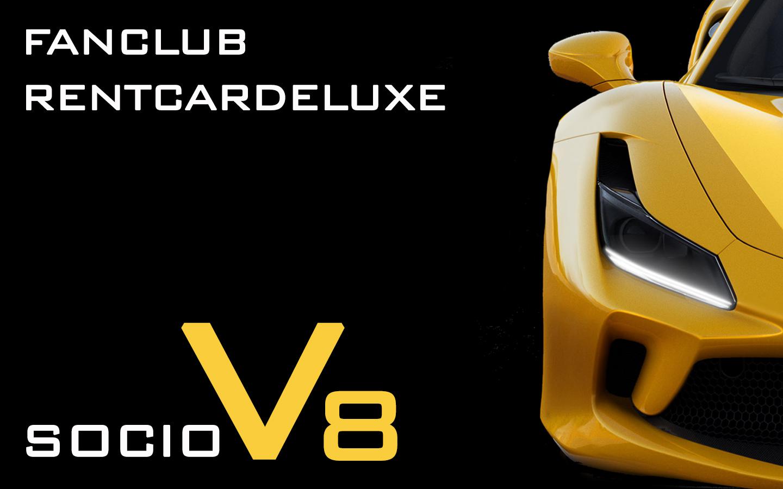 Socio V8 RentCarDeluxe