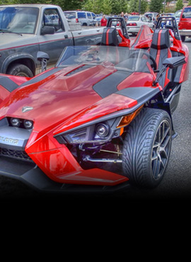 Modelos disponibles Polaris Slingshot